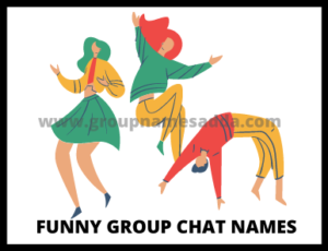 Friends group chat names