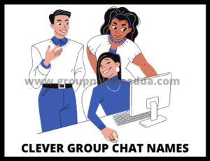 Clever group chat names