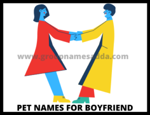 Qualities of good boyfriends which help you to decide good pet names for boyfriend