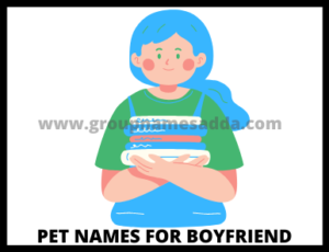 How to choose the best nickname or pet names for boyfriend ( tips & warning)