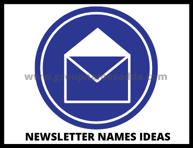 newsletter names ideas
